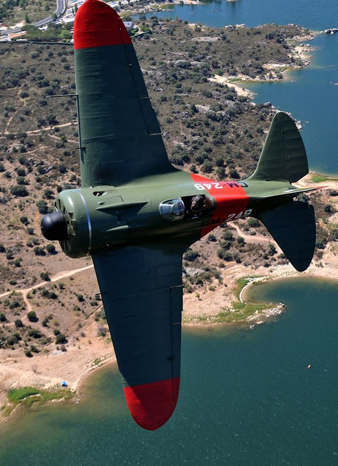 SPANISH AIR FORCE POLIKARPOV I-16 RATA: AIR-TO-AIR & HISTORY