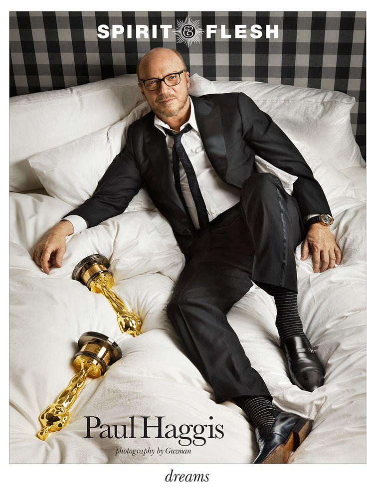 Paul Haggis, photographed by Les Guzman. #paulhaggis #guzman #editorial #portrait #photography