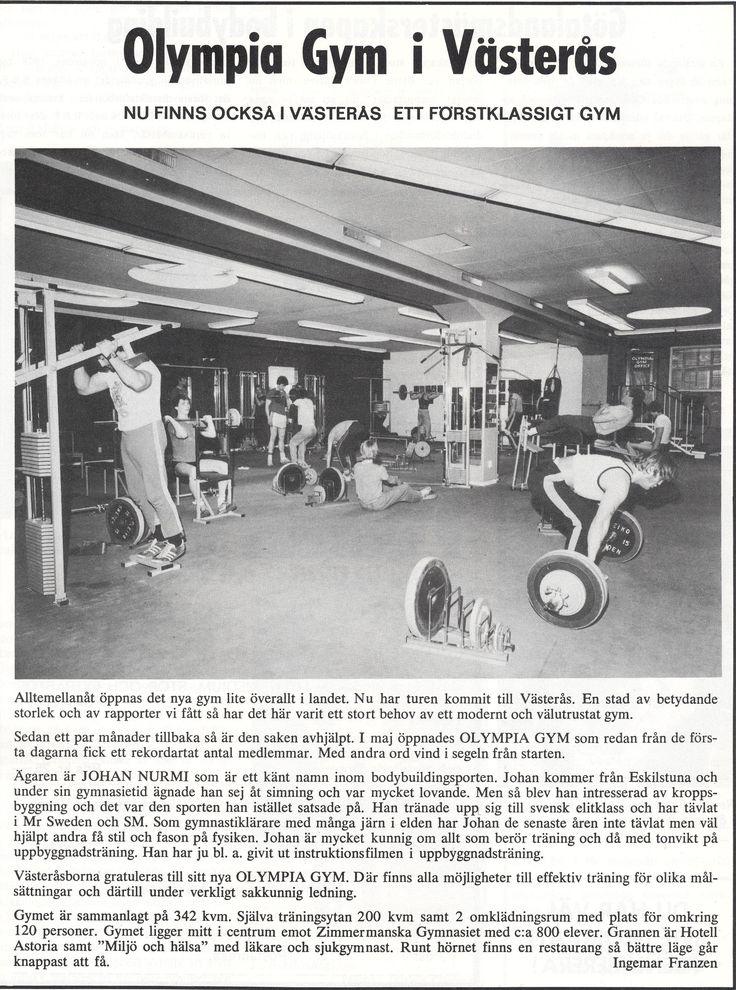 Sweden Västerås - Olympia Gym 1980