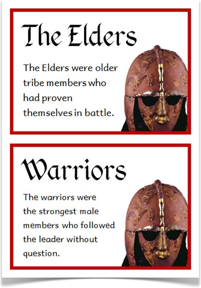 Anglo-Saxons Fact Cards - Treetop Displays - A set of 18 A5 fact cards that give fun and interesting facts about the Anglo-Saxons. Each fact card has a key word heading, making this set an excellent word bank as well! Visit our website for more information and for other printable resources by clicking on the provided links. Designed by teachers for Early Years (EYFS), Key Stage 1 (KS1) and Key Stage 2 (KS2).