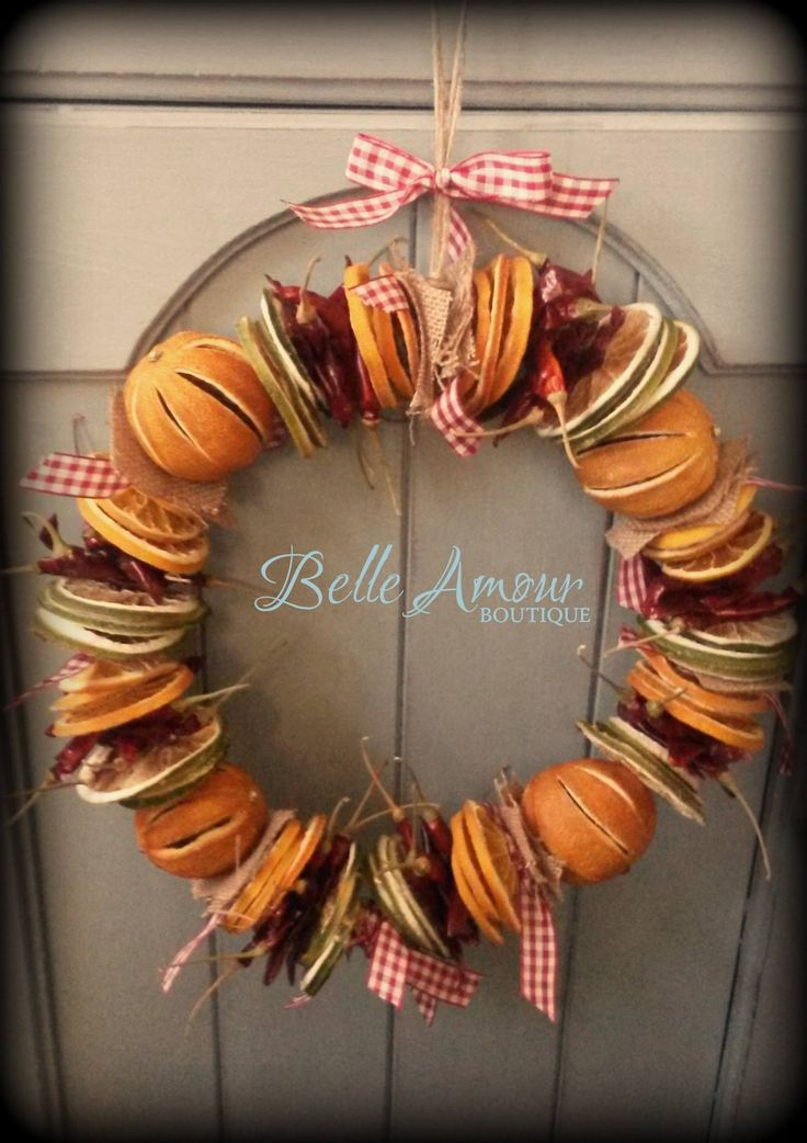 Make your own Christmas wreath like this one from Belle ...