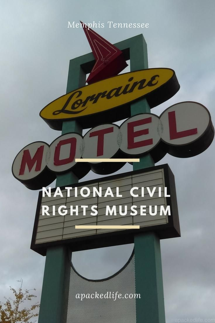 National Civil Rights Museum - Lorraine Motel.  A sobering visit to the site of Dr Martin Luther King's assassination.  Learn more about the civil rights movement. #Memphis #Tennessee