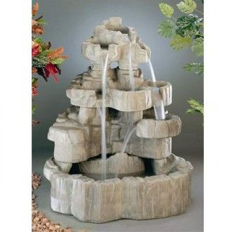 Free Shipping and No Sales Tax on all Large Outdoor Water Fountains from ProHomeStores.com  http://www.prohomestores.com/large-outdoor-fountains/
