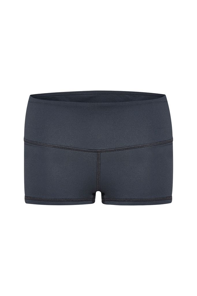Carbon Cheeky Shorts – Dharma Bums Yoga and Activewear