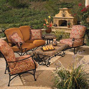 Wrought Iron Lawn Furniture Colorado Springs, Metal Patio Furniture    Westernfireplace