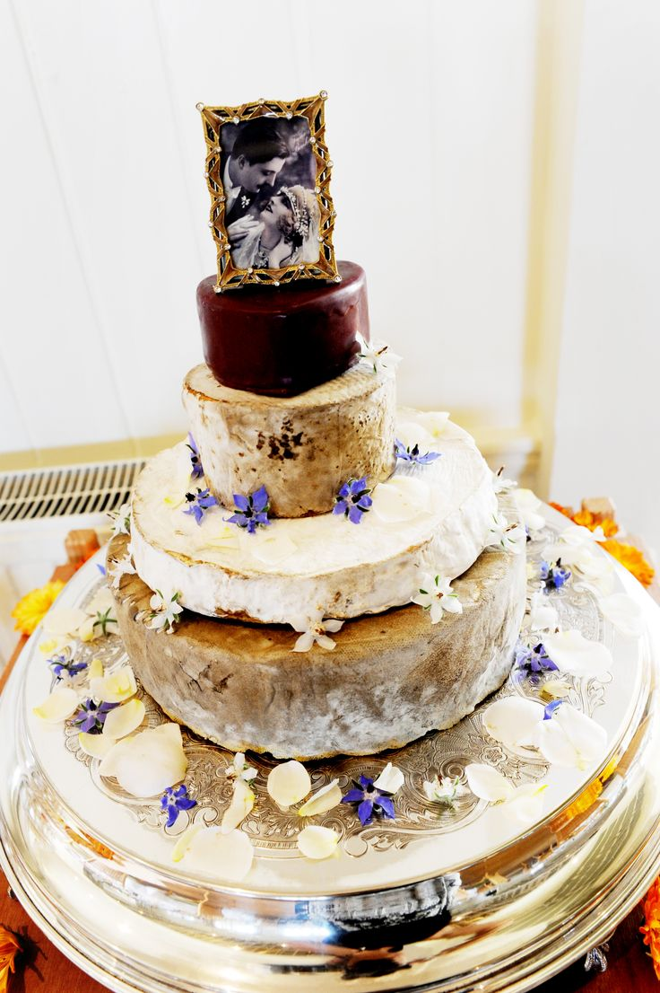 Wedding Cheese Tower And Edible Flowers Memorable Cheeses Ipswich