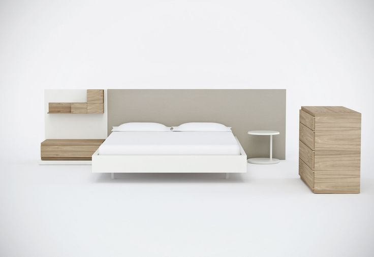The Kairos bed, design by Odos Design for Arlex.  Modular and available in various finishes.