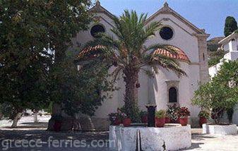 Het Sint George Klooster Heraklion, Kreta Eiland, Griekse Eilanden, Griekenland