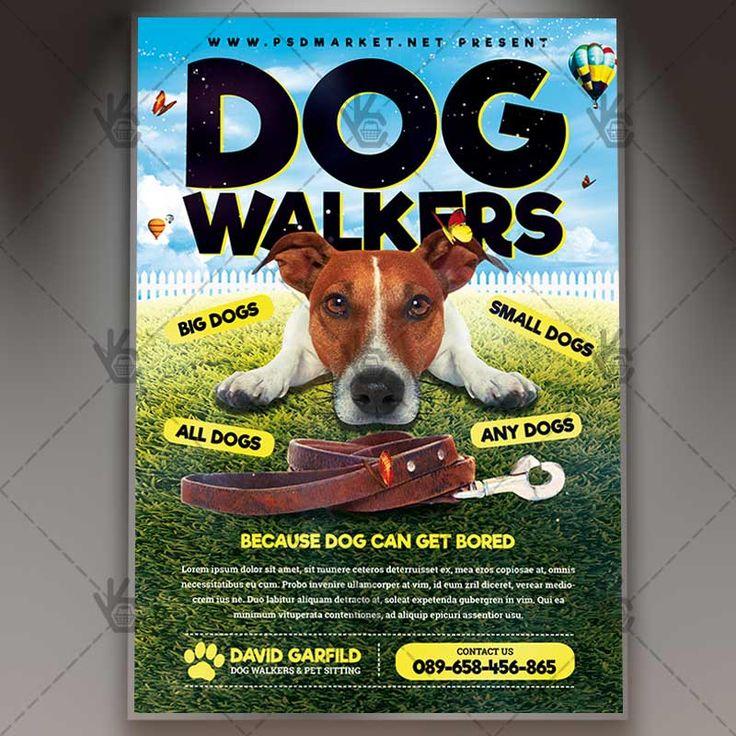 Best  Dog Walker Flyer Ideas On   Dog Walking Flyer