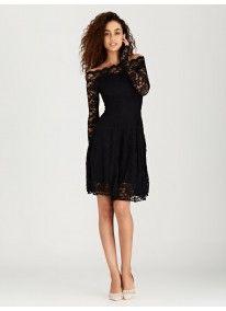 London Hub | Swing Lace Dress Black