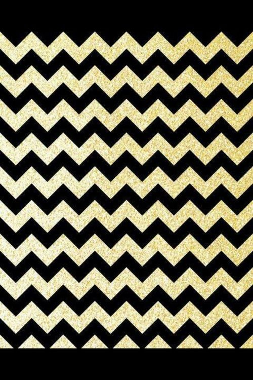 black, glitter, and diy image | Chevron wallpaper, Black ...