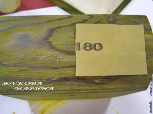 """""""Этой шкатулке лет сто"""". Состаривание древесины с помощью обжига, брашировки, воскования и тонировки - Ярмарка Мастеров - ручная работа, handmade"""