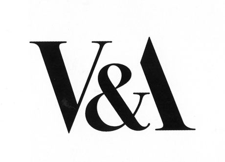 Victoria And Albert Museum logo by Alan Fletcher, i like the way the artists have combined the three characters together.
