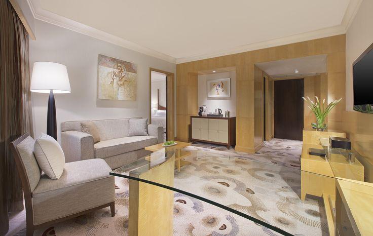 Deluxe Suite Living Room #westinbangkok