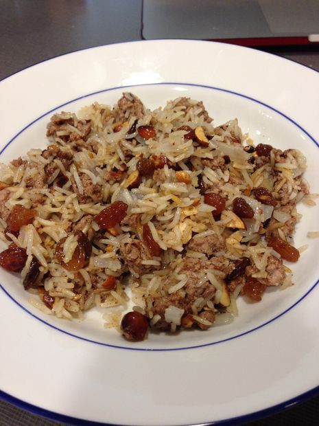 How to make Egyptian Lamb and Rice