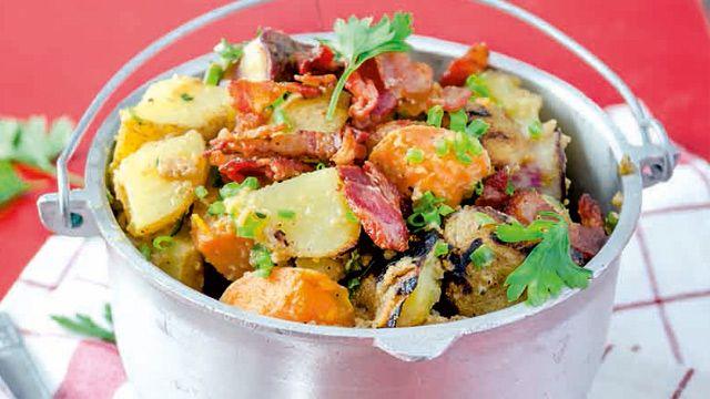 Grilled Potato Salad   Recipe   yummy.ph