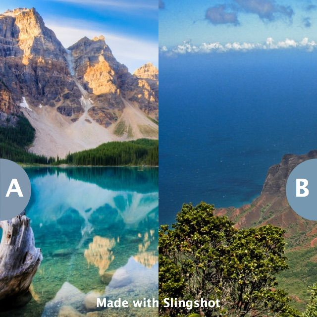 Vacation in Canada or in Mexico for 2 weeks? Click here to vote @ http://getslingshotapp.com/share/98776
