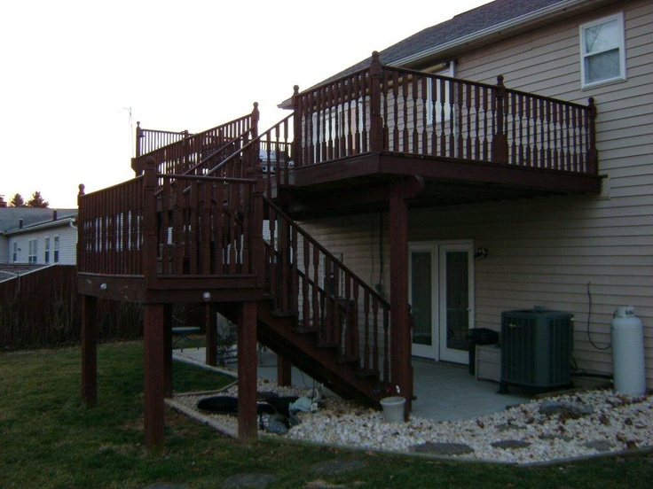17 best images about split level remodel on pinterest for Split level patio
