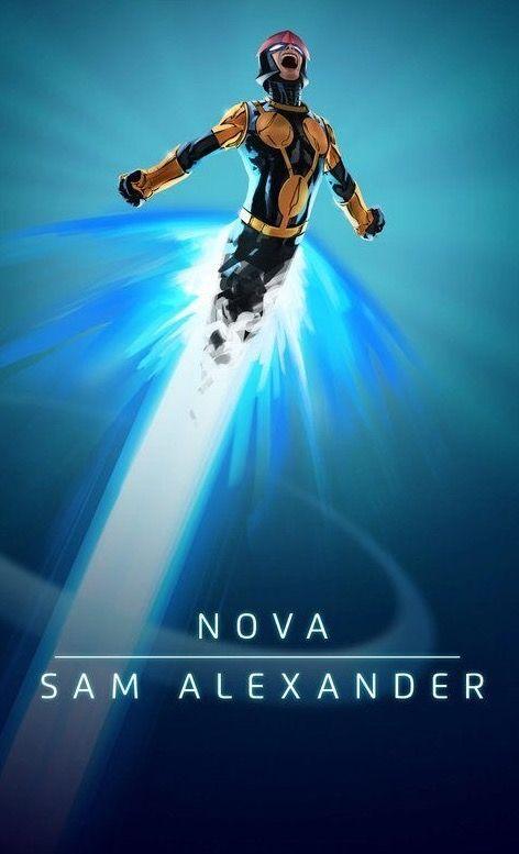 Sam Alexander as Nova