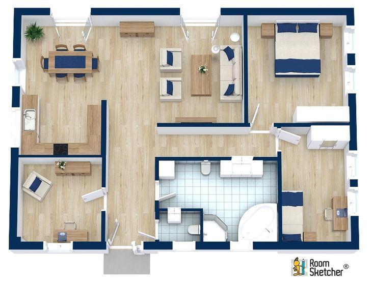 196 best real estate floor plans images on pinterest for Floor plans for real estate marketing