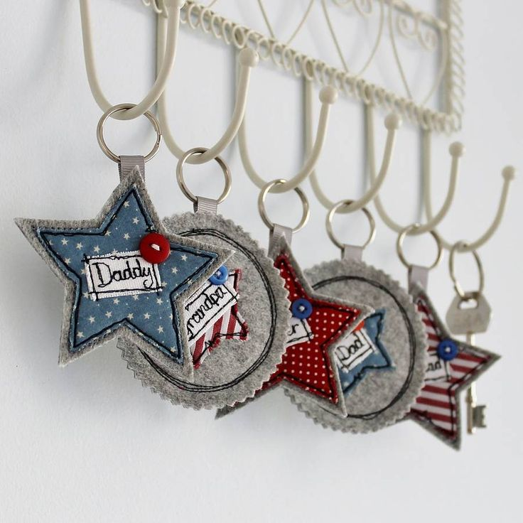 personalised star key ring by honeypips | notonthehighstreet.com