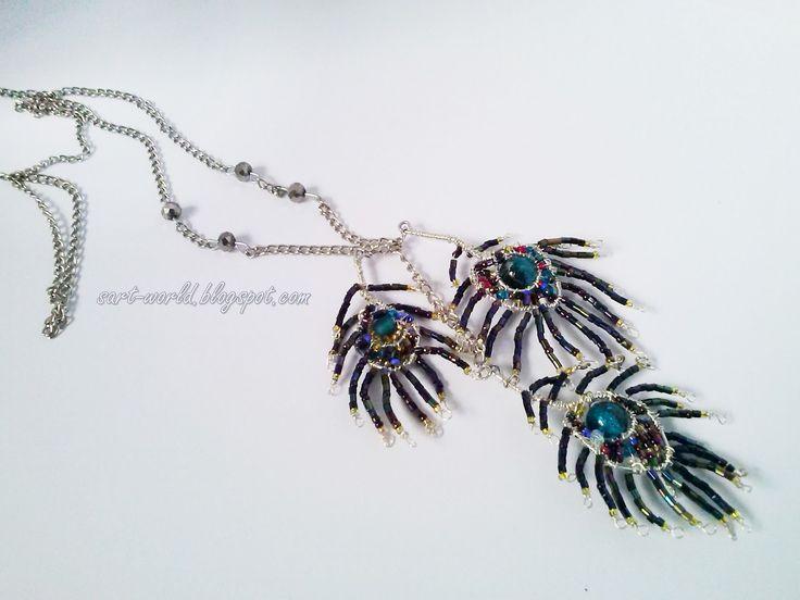 Mój własny kreatywny świat: Motyw zwierzęcy - pawie pióra