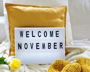 FAVOURITE THINGS FOR NOVEMBER