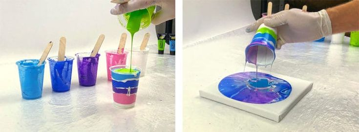 Acrylic Pouring – All information about acrylic casting (with instructions)