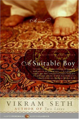 A Suitable Boy - Set in 1950s Bombay, Seth's novel of the search for a suitable husband for Lata really needs each of its nearly 1500 pages to tell such a rich, wonderful story.