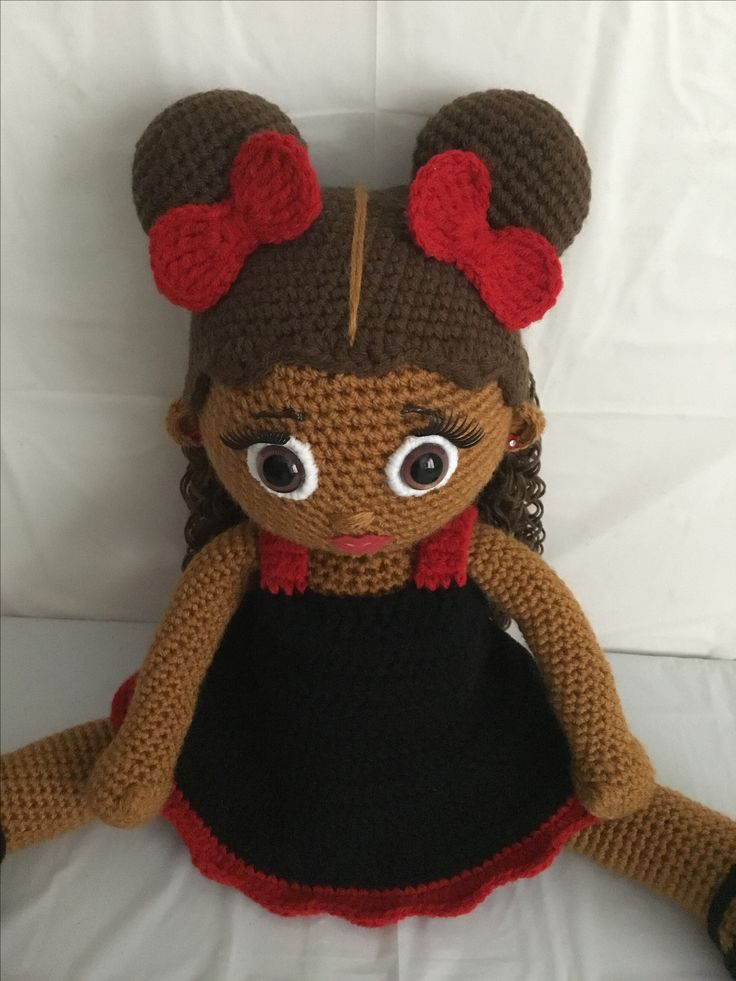 54 Best Crochet Doll Hairstyles Images On Pinterest