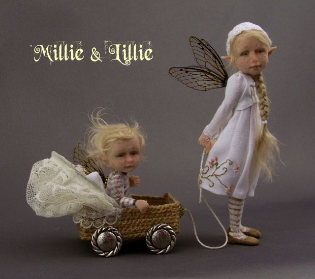 "Fairystudiokallies: Juli 2010 ""Millie and Lillie"" by M and CH"