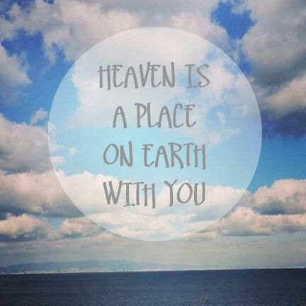 "Quotes :""Heaven is a place on earth with you""  Pic: Sehun instagram"