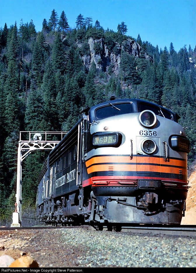 RailPictures.Net Photo: SP 6356 Southern Pacific Railroad EMD F7(A) at Small…