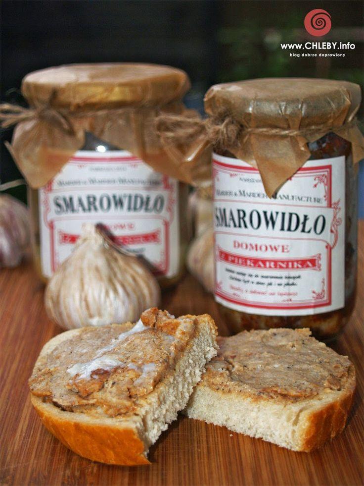 Pieczenie chleba i inne przepisy: Smarowidło ze słoika z piekarnika