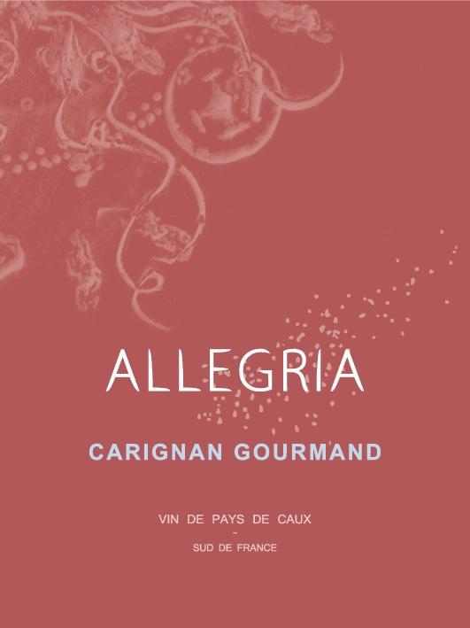 100% carignan druif, Vins de pays de Caux, Languedoc