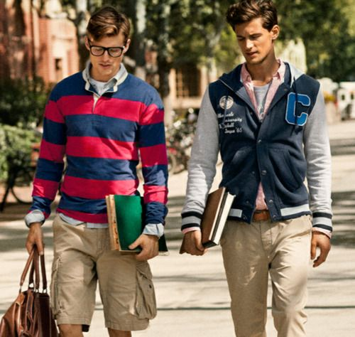 Clothing stores for college guys