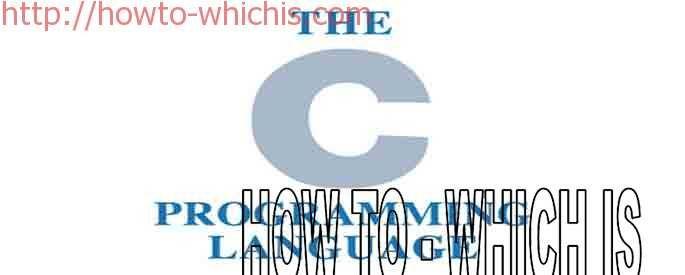 C PROGRAMMING LANGUAGE-PART-1