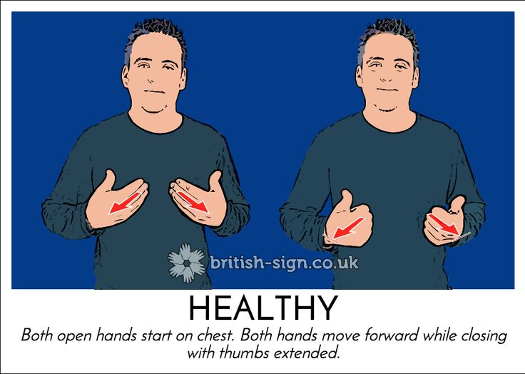 Today's #BritishSignLanguage (#BSL) sign is: HEALTHY #Stoptober www.betterstopsmoking.com