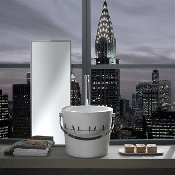 Cool washbasin. #badeværelse #bathroom #håndvask