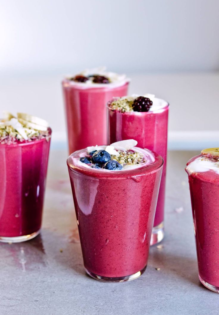 Avocado citrus berry beet smoothie - 3 recipes - aren't just pretty but are really healthy too! Purify and detox your body and start the day the vibrant way. Great breakfast or snack option. | @mitzyathome mitzyathome.com