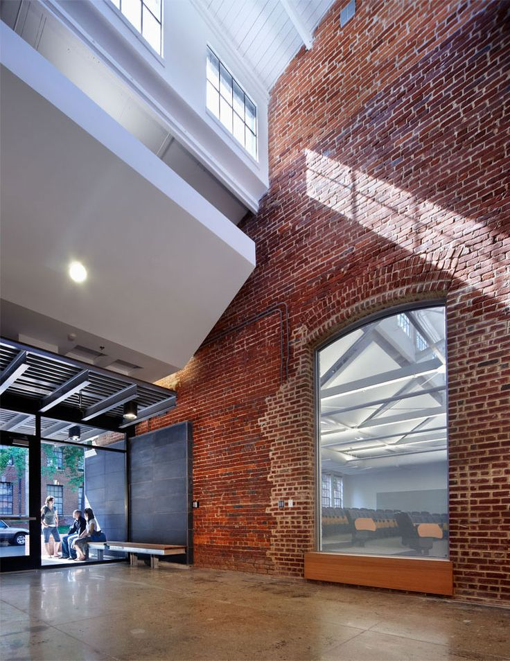 Park Shops Adaptive Reuse / Pearce Brinkley Cease + Lee Good integration between Old + New