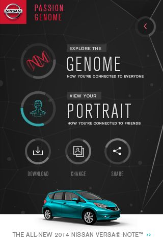 #AwesomeDude #Inspiration Passion Genome Mobile - Menu