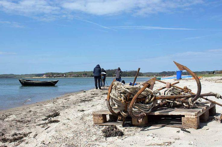 Fischerboote am Strand zwischen Thiessow und Klein Zicker | Fischerboote malen am Strand zwischen Klein Zicker und Thiessow (c) Frank Koebsch (6)