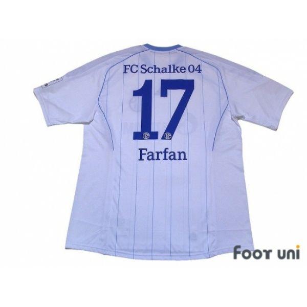 Photo2: Schalke04 2011-2012 Away Shirt #17 Farfan Bundesliga Patch/Badge  Hermes