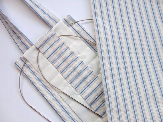 Knitting Needle Storage Ideas : Hanging knitting needle organizer circular storage