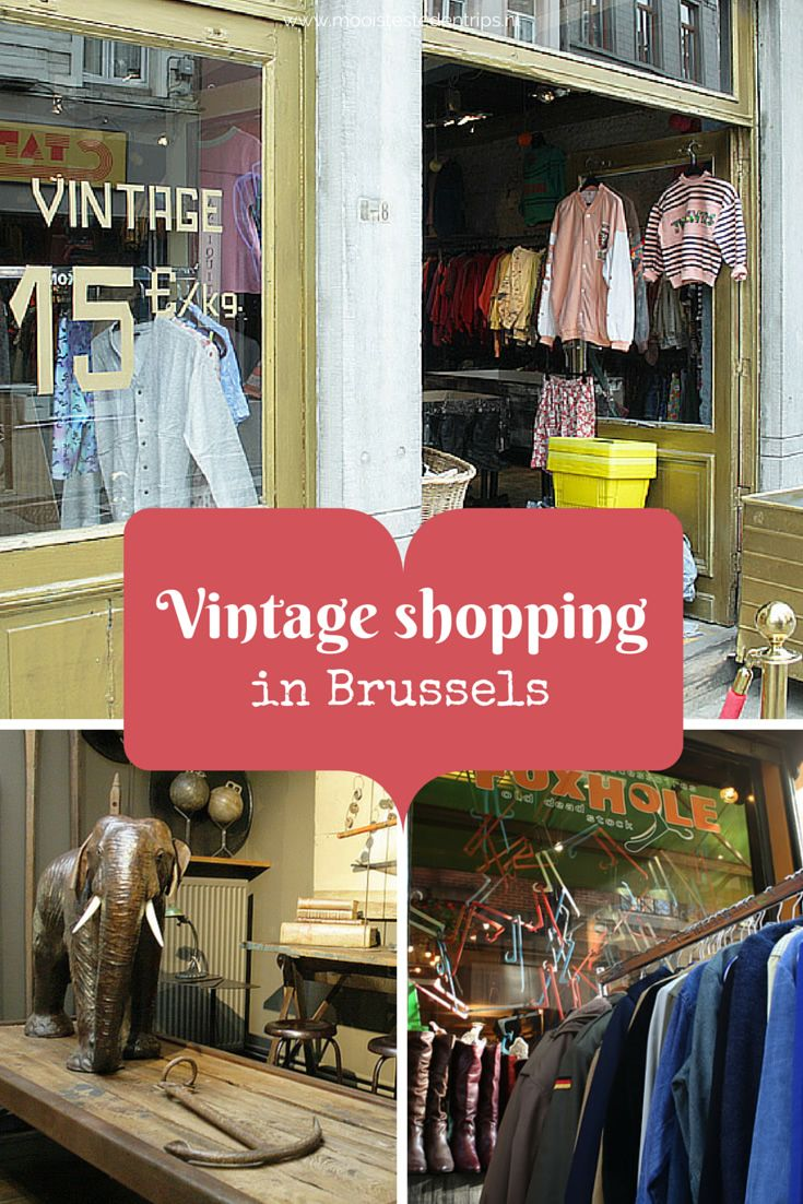 The best places to go vintage shopping in Brussels!
