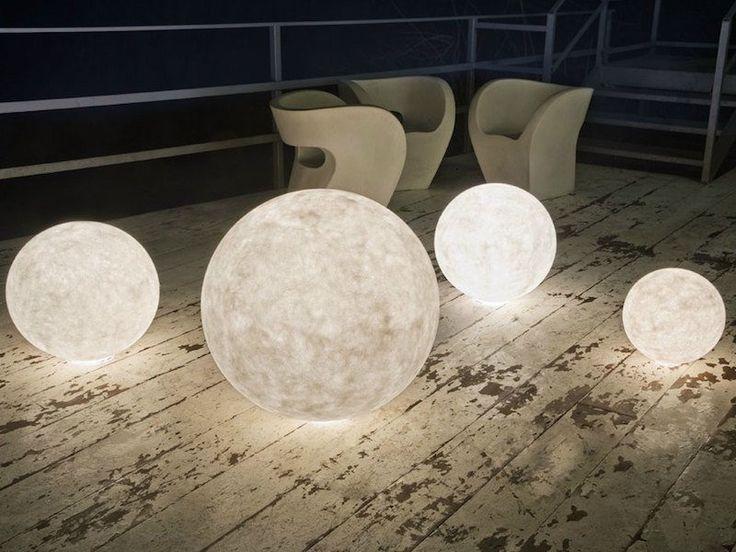 boule d'éclairage pour la terrasse de jardin Ex Moon- une pleine lune magnifique