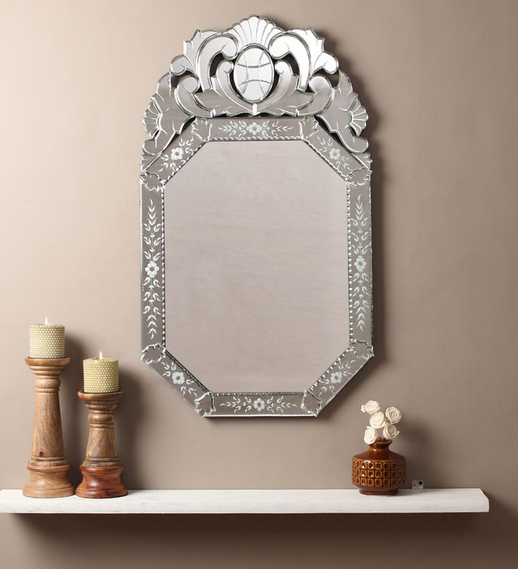 Imane Silver MDF Mirror #mirrors #mirror #reflectors #show #pinit #pinterest #shazliving Shop at: https://www.shazliving.com/