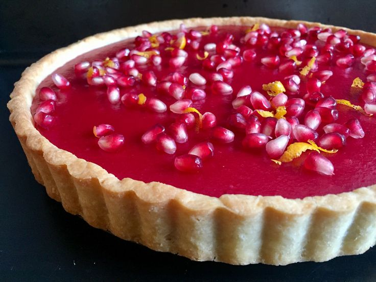 The Cooking of Joy: Cranberry Curd Tart