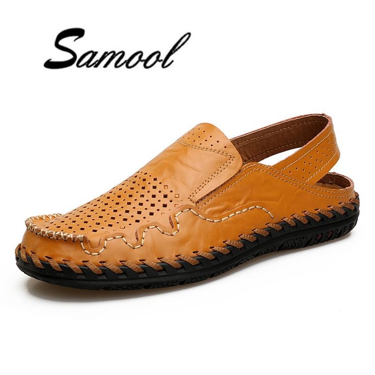Leather Summer Shoes Men Sandals Fashion Male Sandalias Beach Shoes Soft Bottom Breathable Driving Shoes Slip-on Footwear lx5. Yesterday's price: US $28.45 (23.16 EUR). Today's price: US $28.45 (23.09 EUR). Discount: 52%.